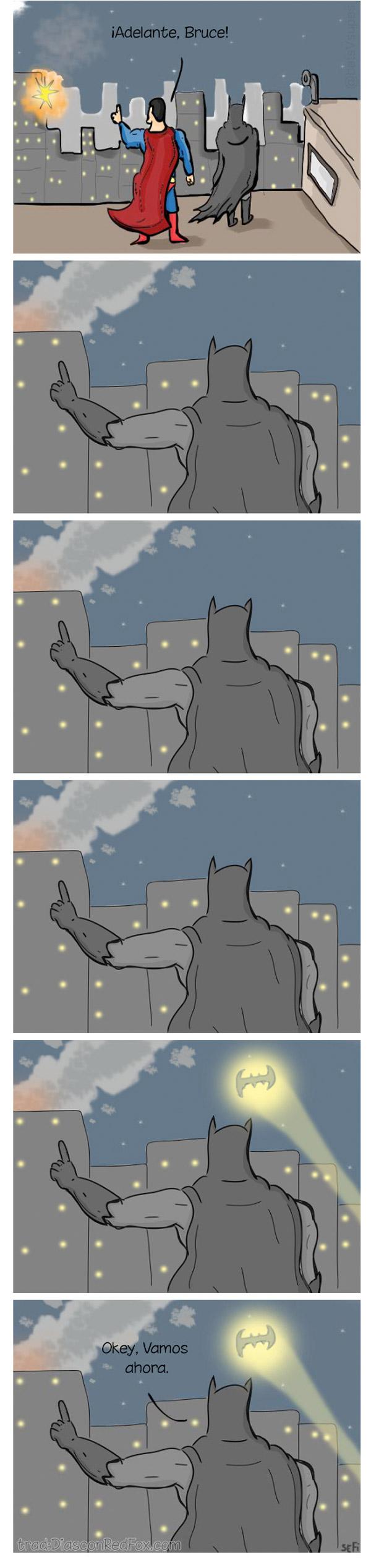 ¡Adelante, Bruce!