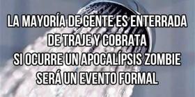Apocalipsis zombie será un evento