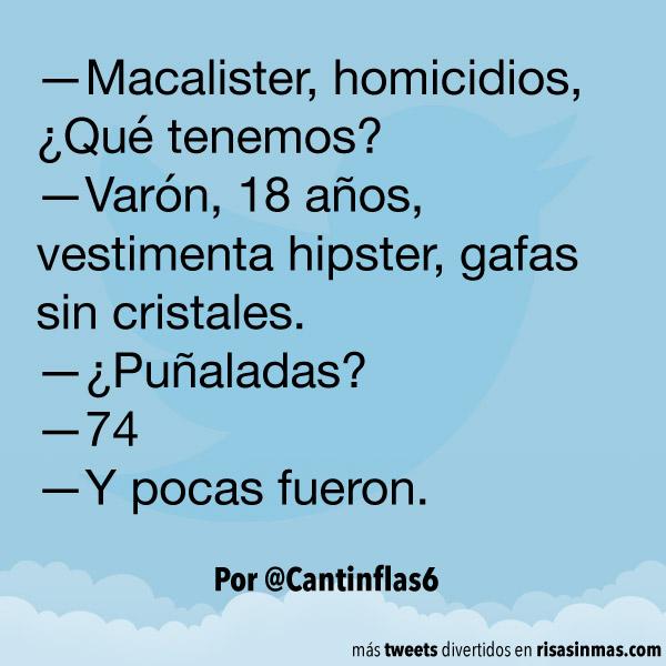 Macalister, homicidios