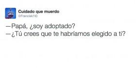¿Soy adoptado?