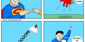 Superman y la física