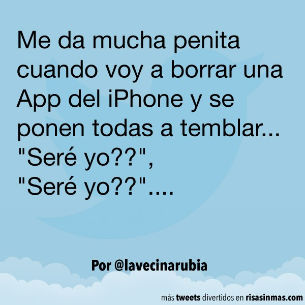 Borrando apps del iPhone