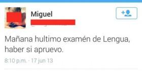 Examen de lengua