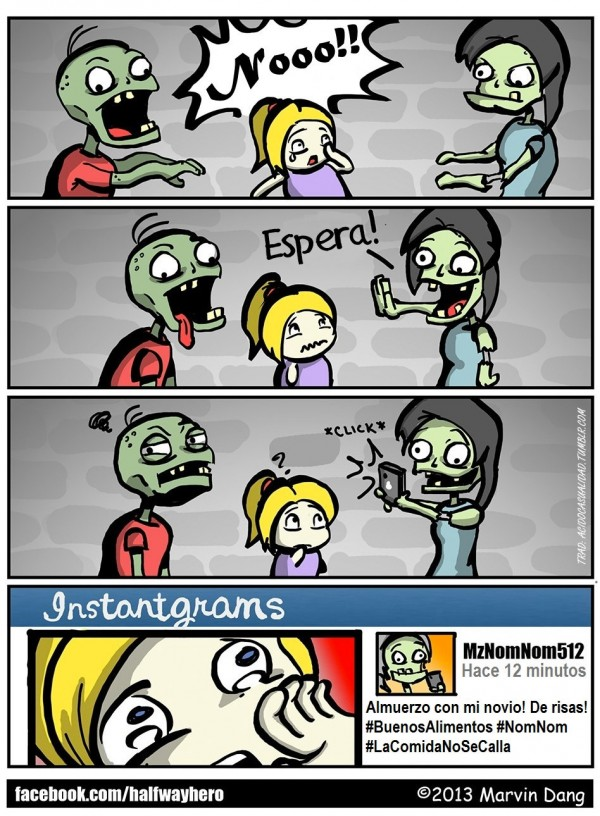 Instagram para Zombies
