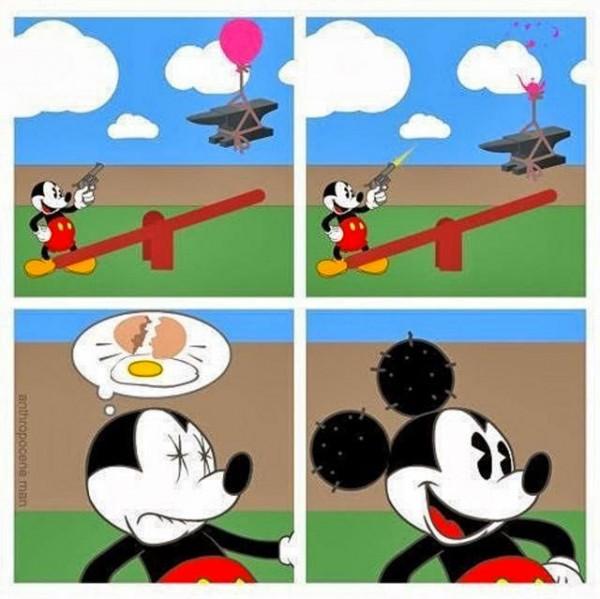 Las orejas de Mickey