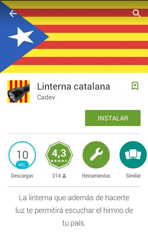 Linterna catalana
