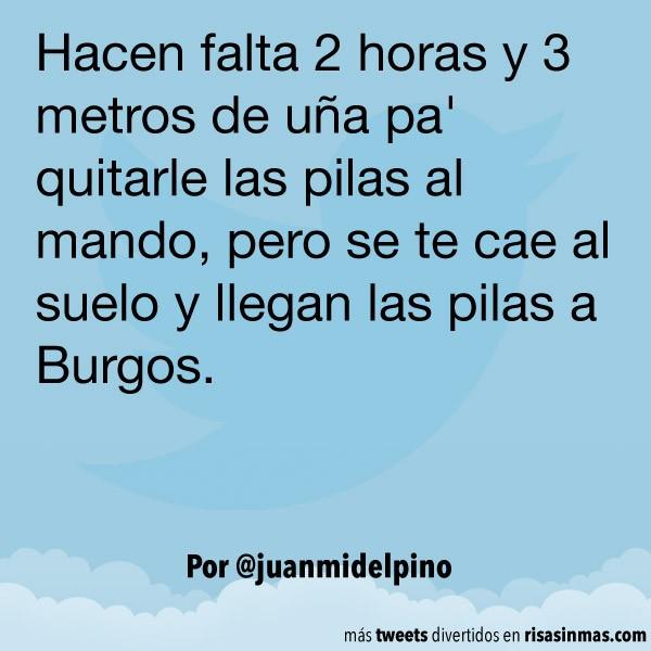 Llegan las pilas a Burgos