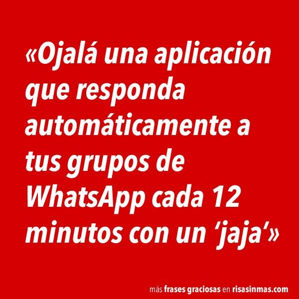 Responder automáticamente a tus grupos de WhatsApp
