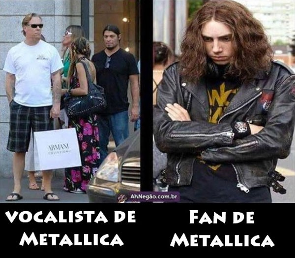 Vocalista y Fan de Metallica