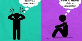 Colegio y universidad: odio