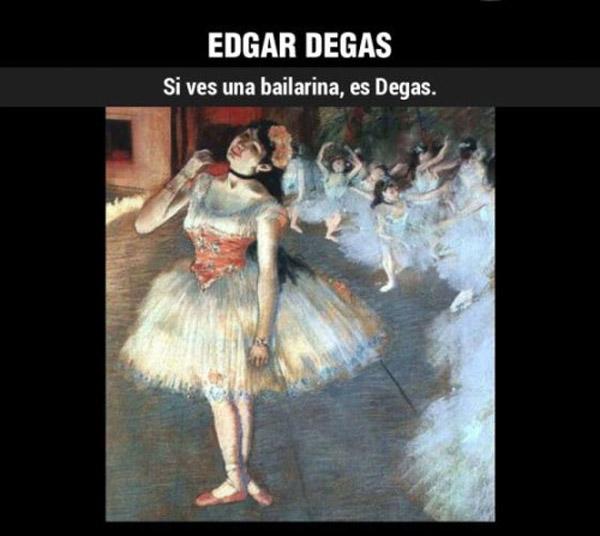 ¿Cómo reconocer a... Degas?