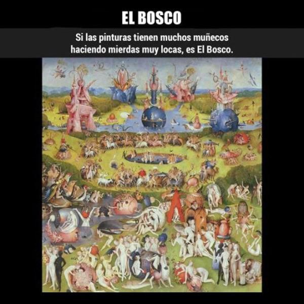 ¿Cómo reconocer a... El Bosco?