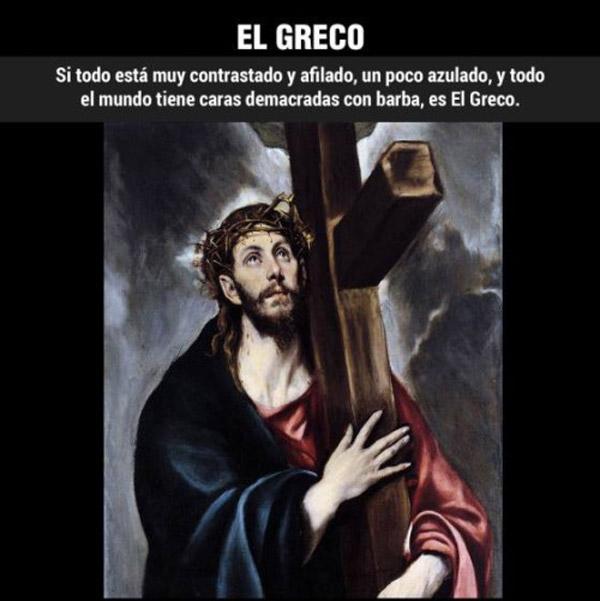 ¿Cómo reconocer a... El Greco?
