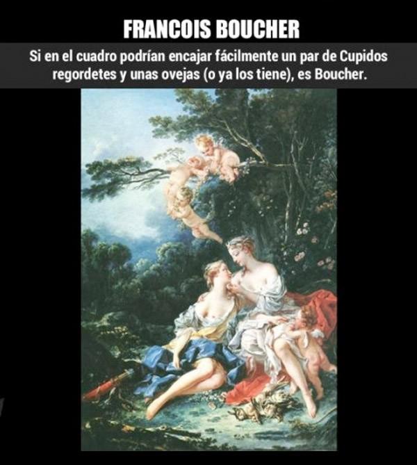 ¿Cómo reconocer a... Francois Boucher?