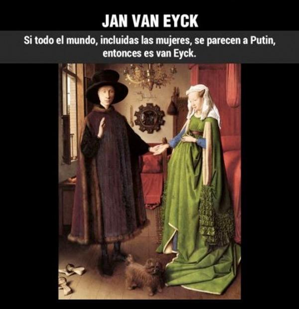 ¿Cómo reconocer a... Jan Van Eyeck?