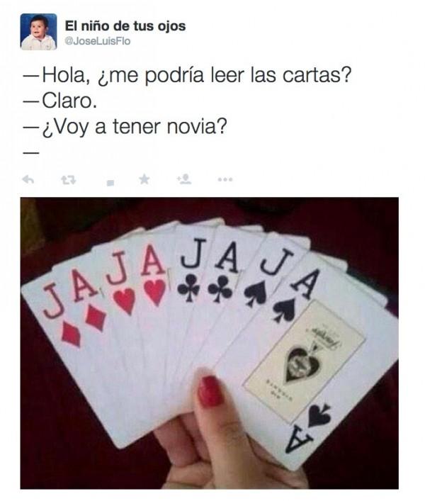 ¿Me podría leer las cartas?