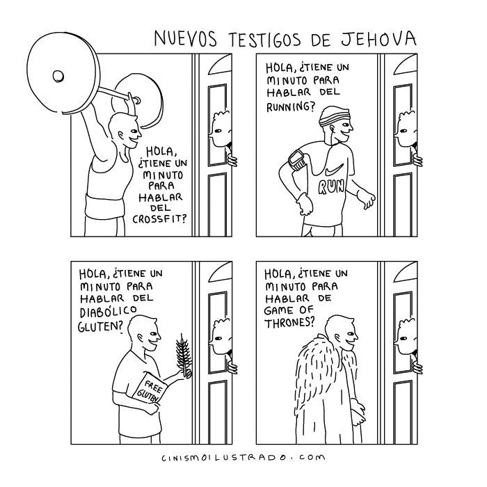Nuevos testigos de Jehová
