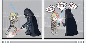 Star Wars sin baterías