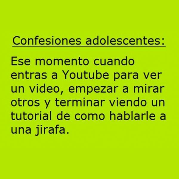 Adolescentes y YouTube
