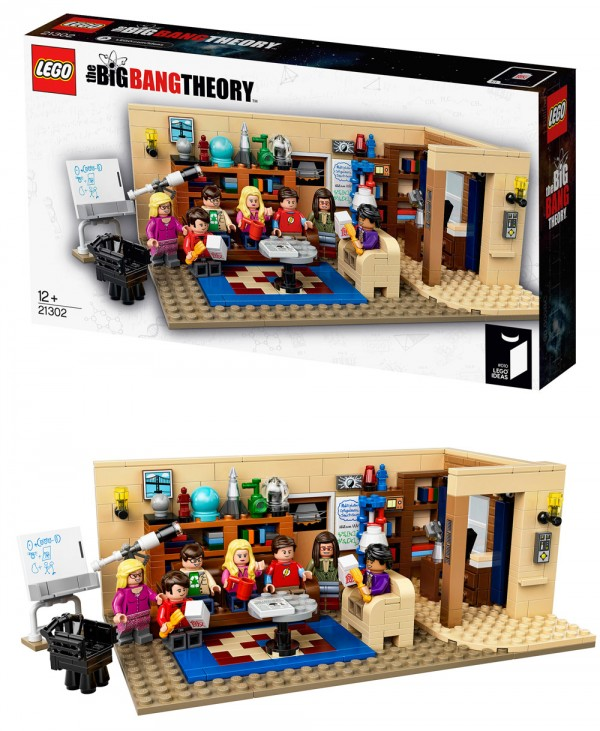Bing Bang Theory en LEGO