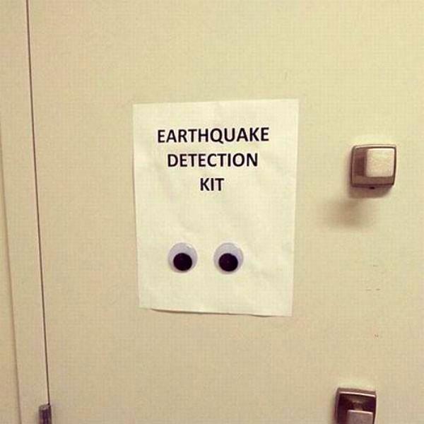 Detector de terremotos