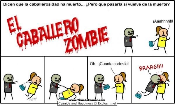 El caballero zombie