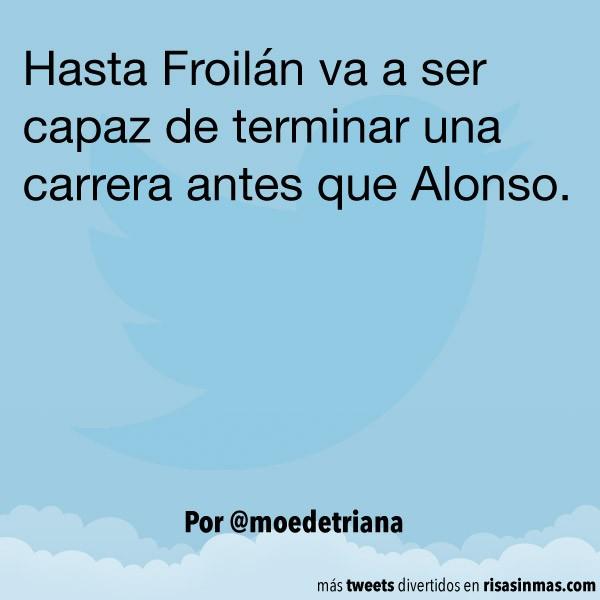 Froilán vs Alonso