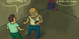 Hombre araña de rincón