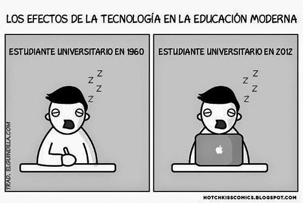 Los efectos de la tecnología