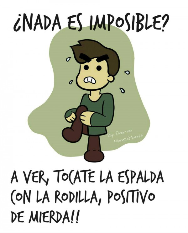 ¿Nada es imposible?