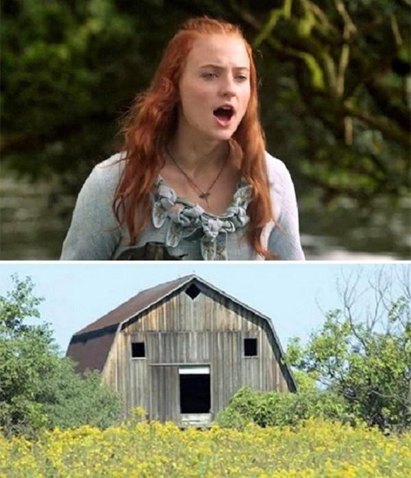 Parecidos razonables: Sansa Stark