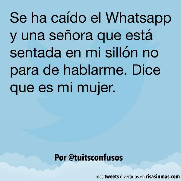 Se ha caído el Whatsapp