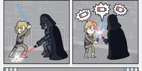 Star Wars... sin baterías