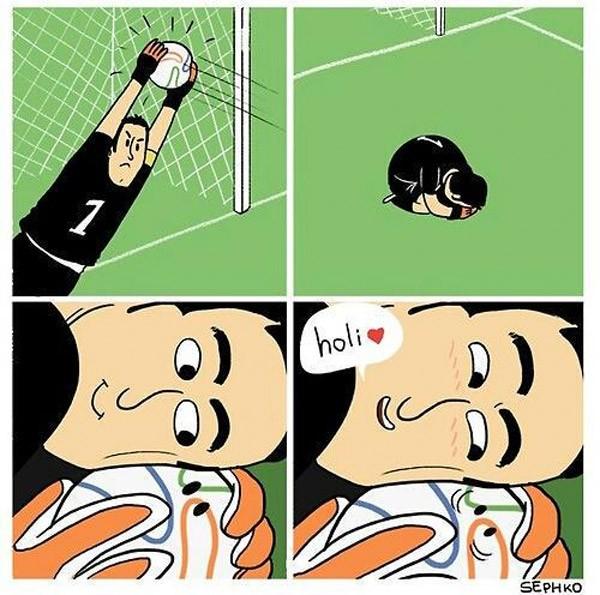 Amor en el fútbol