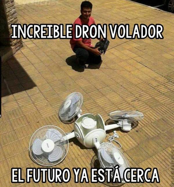 Increíble dron volador