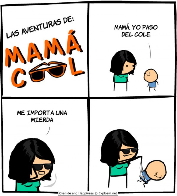 Las aventuras de mamá cool