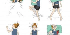 Dormir en una noche calurosa