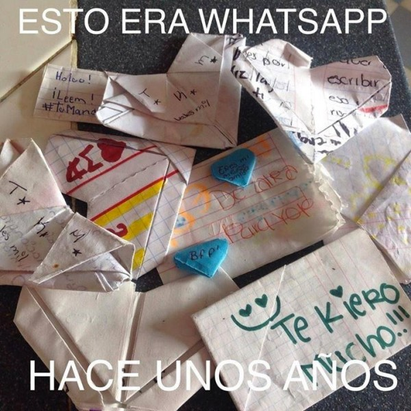 El antiguo Whatsapp