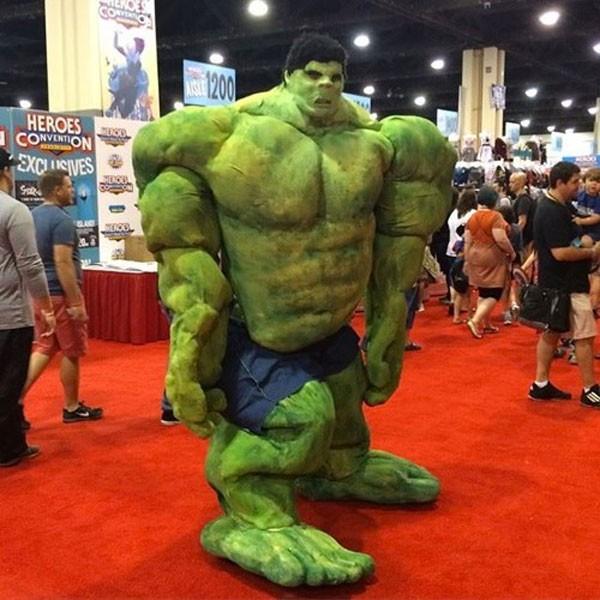 El mejor cosplay de Hulk de la historia