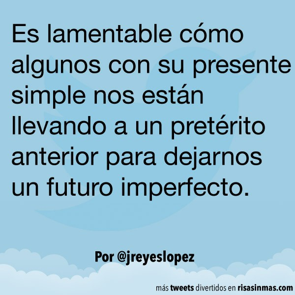 Futuro imperfecto