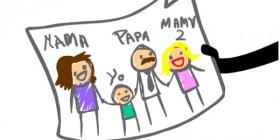 He dibujado a nuestra familia