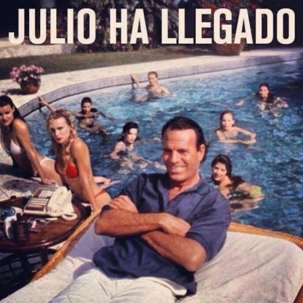 Julio ha llegado
