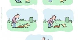 La caquita del perro