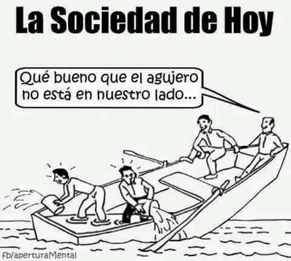 La sociedad de hoy