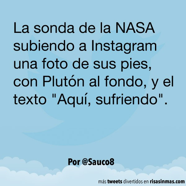 La sonda de la NASA en Instagram