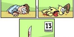 Lunes 13 y Garfield