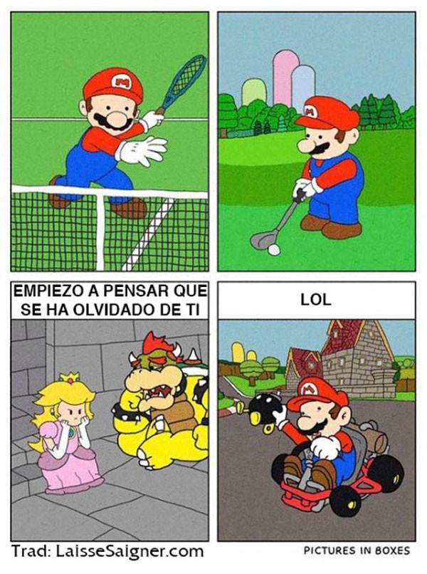 Mario se ha olvidado de ti