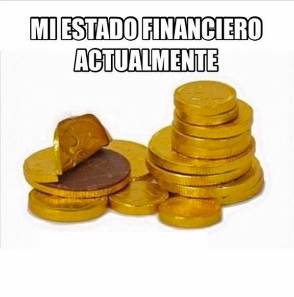 Mi estado financiero actualmente