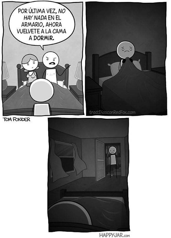 No hay nada en el armario