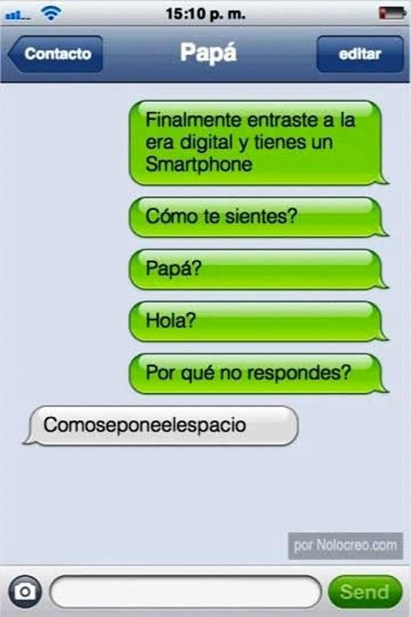 Papá tiene smartphone